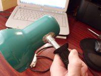 Как отремонтировать настольную лампу своими руками