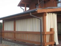 Брезентовые шторы для веранды