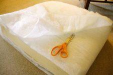 Как сделать подушки для дивана своими руками