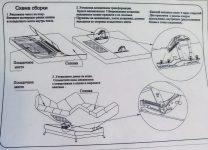 Как собрать диван клик кляк инструкция