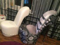 Кресло туфелька на шпильке своими руками