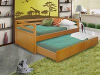 Выкатная кровать для двоих взрослых
