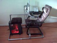 Самодельное кресло для компьютера