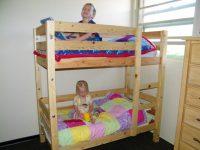 Двухэтажная кровать для детей своими руками