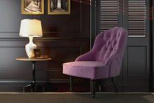 Небольшие кресла в современном стиле