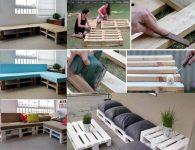 Как сделать диван из поддонов пошаговая инструкция