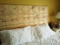 Как украсить изголовье кровати своими руками