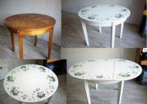 Как отреставрировать деревянный стол своими руками