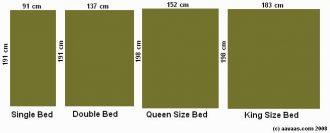 Queen size bed размер кровати