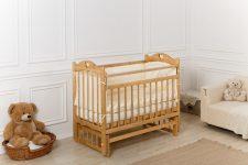 Приставка к кровати для младенца