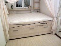 Кровать подиум с ящиками своими руками