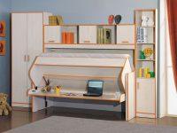 Стол кровать трансформер для школьника для дома