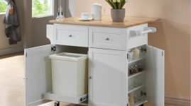 Кухонные столы тумбы с ящиками для посуды