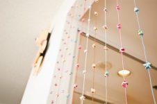 Как сделать висячие шторы своими руками