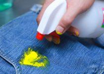 Как стереть акриловую краску с ткани