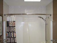Как установить палку для шторы в ванной